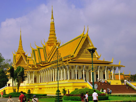 Le Palais Royal, Phnom Penh, Cambodge
